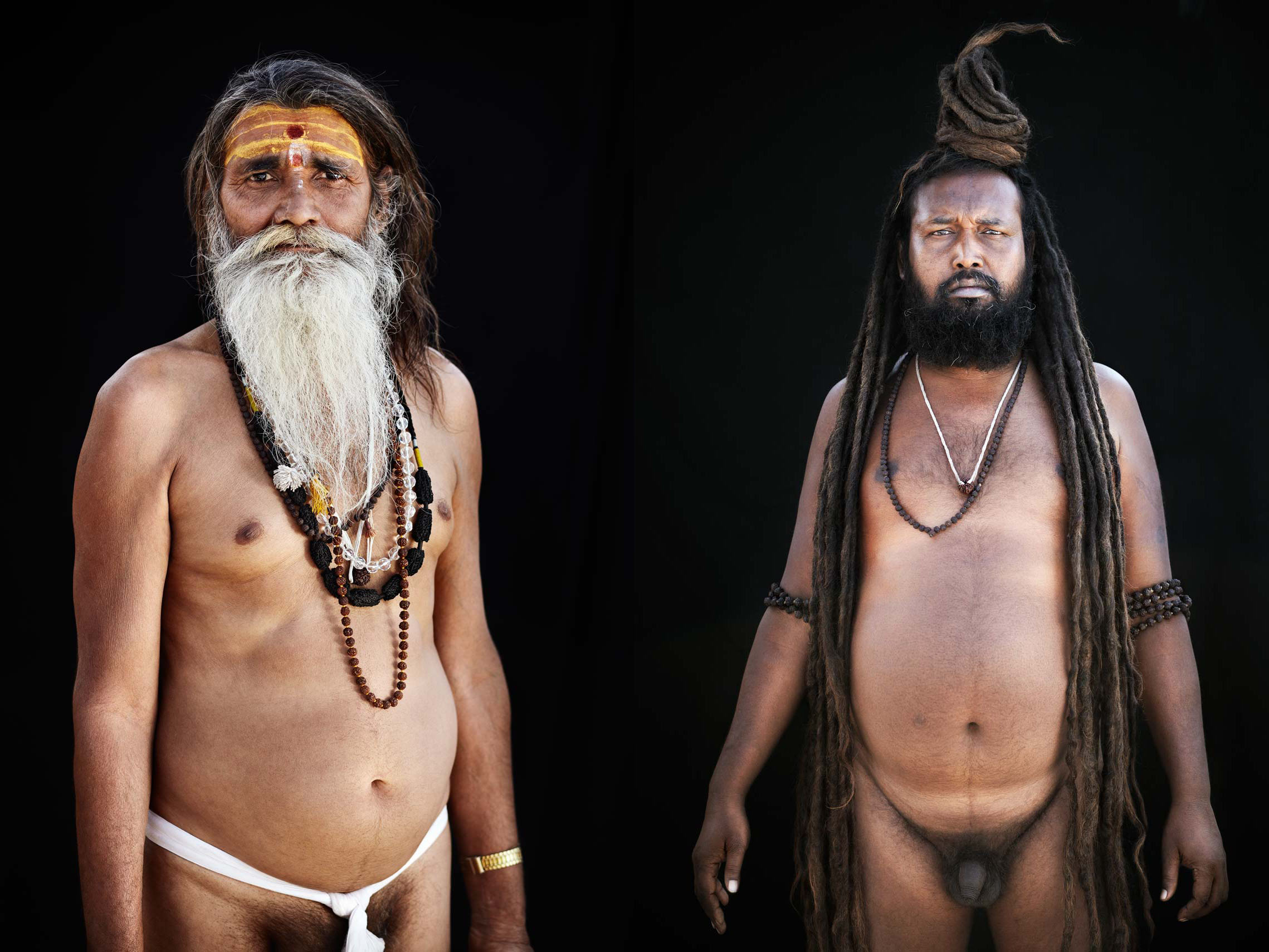 Naked Saddhu, India
