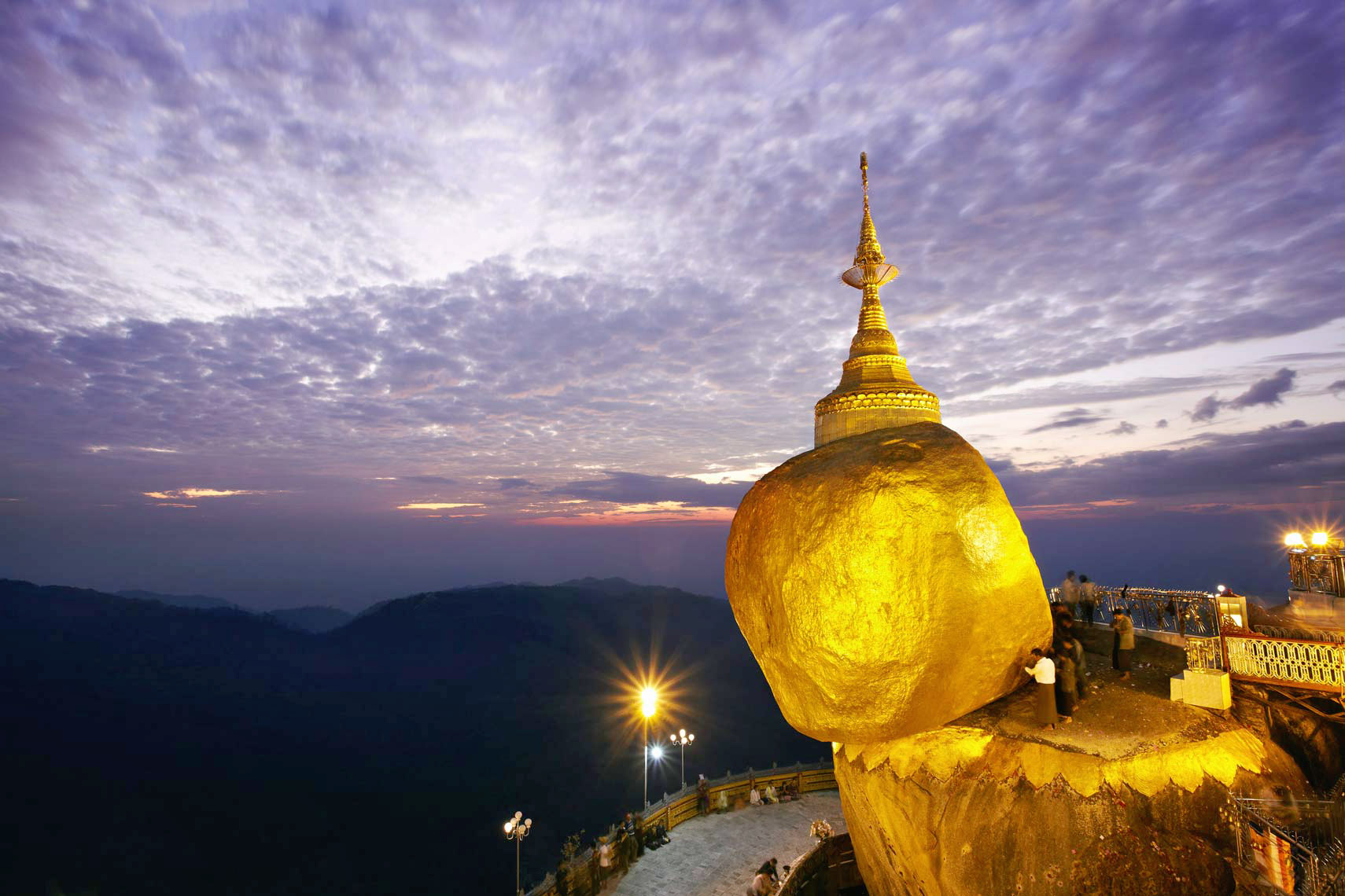 Golden Rock, Burma